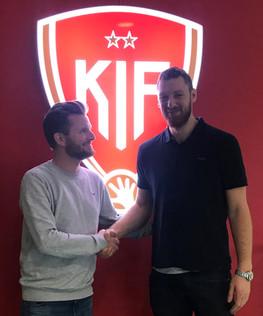 Alexander Morsten forlænger med KIF Kolding