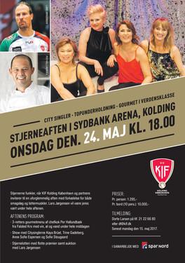 City Singler + Falsled Kro + Lars Jørgensen = Oplevelse i særklasse