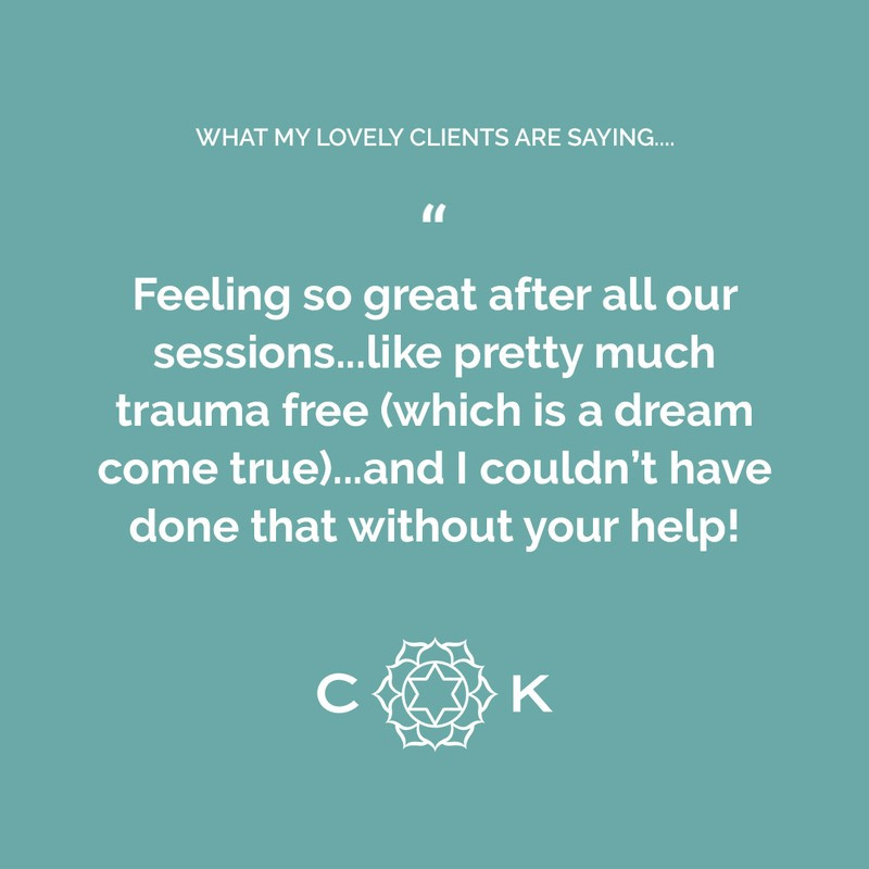 Cambridge Kinesiology - What my lovely clients are saying