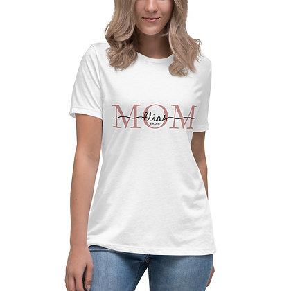 T-shirt   MOM met naam