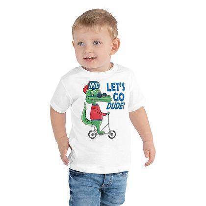 T-shirt | Krokodil - Let's Go Dude!