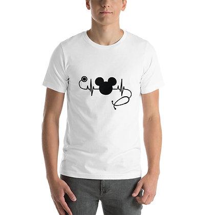T-shirt | stethoscoop met hartslag (Mickey)