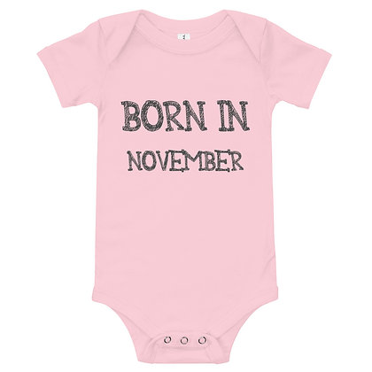 Romper - Born in November