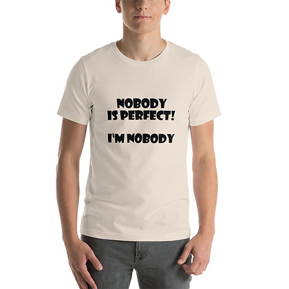 T-shirt   Nobody is Perfect ...