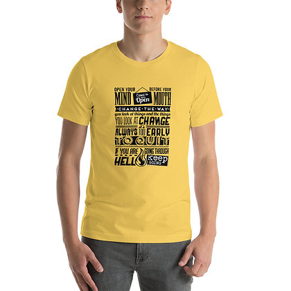 T-shirt   Big Quote