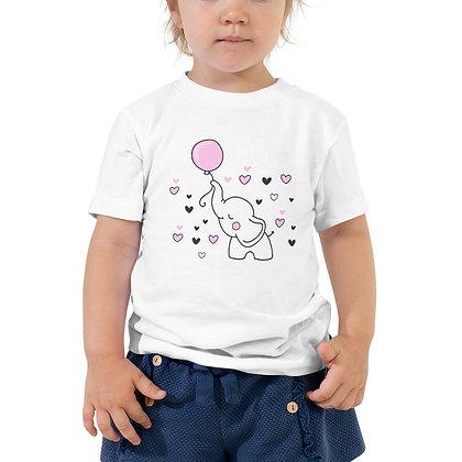 T-shirt   Olifant met roze ballon