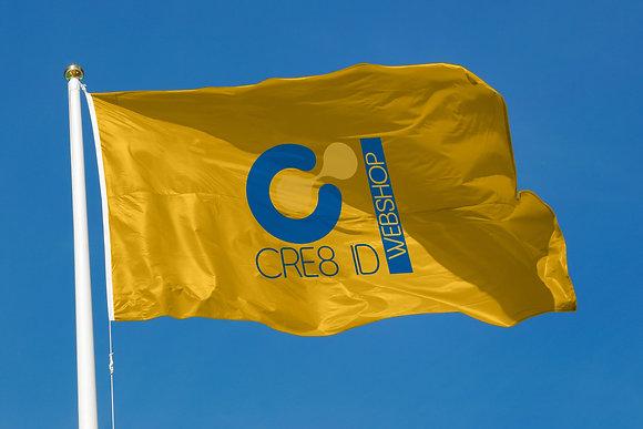 Vlag - Full colour bedrukt (150x100cm)
