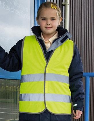 Fluo veiligheidsvest -Kinderen