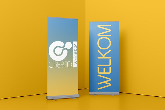 Roll-up banner (85x205cm)