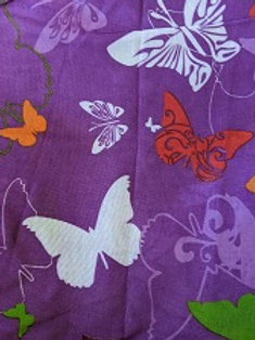PURPLE W BUTTERFLIES