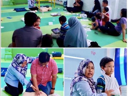 Seminar Penanganan Cidera pada Anak di Pepito Daycare bersama SafekidsIndo