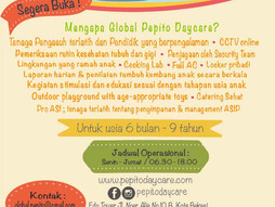 Opening Soon..! Global Pepito Daycare