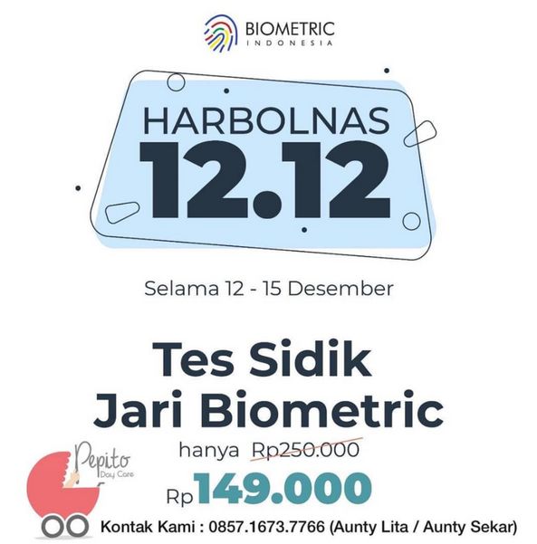 Promo Harbolnas Biometric