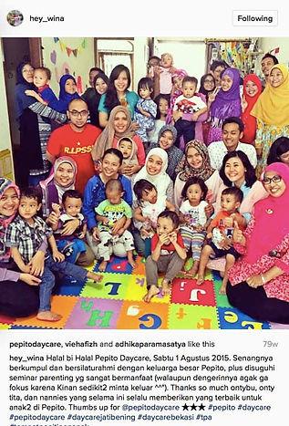 Halal Bi Halal Pepito Daycare 2015