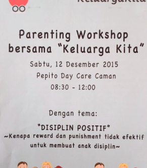 "Parenting Workshop bersama ""Keluarga Kita"" & Training ""First Aid"" for Nannie"