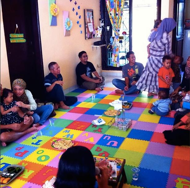 Suasana Parent's Gathering di Pepito Day Care, Jatibening, Bekasi :)