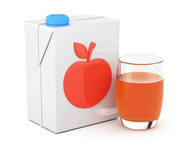 suco de laranja em caixa