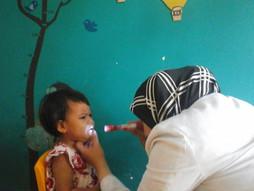 Periksa Kesehatan Anak oleh Dokter secara rutin di Pepito Day Care