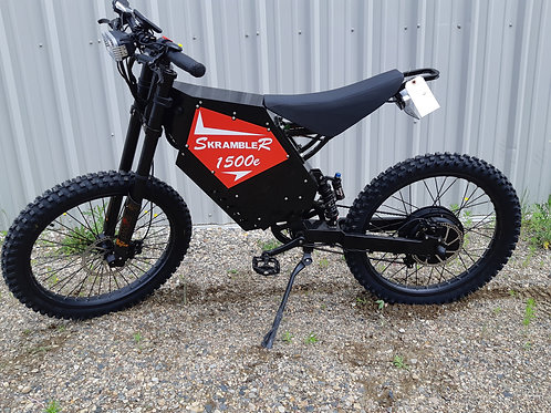 SR1500e Electric Trail Bike - Motorcycle