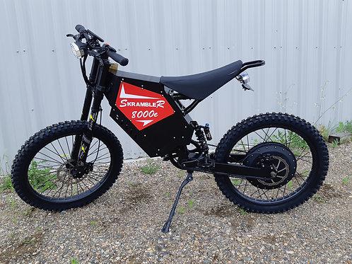 SR8000e Electric Trail Bike - Motorcycle