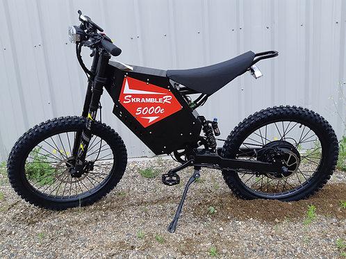 SR5000e Electric Trail Bike - Motorcycle
