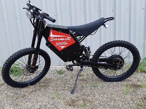SR3000e Electric Trail Bike - Motorcycle