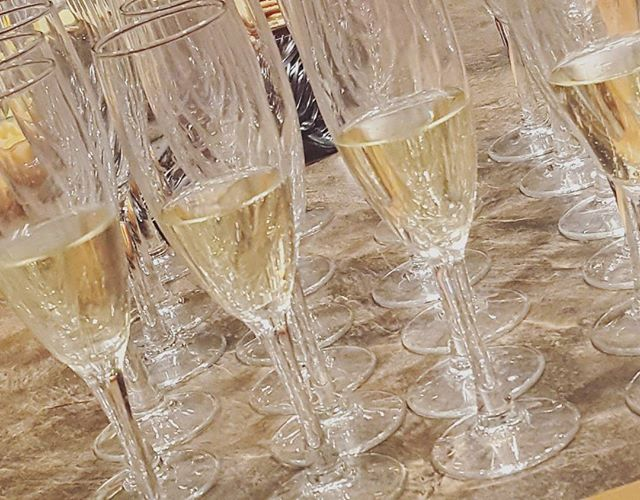 Champagne Flutes by Alice K. Hurley
