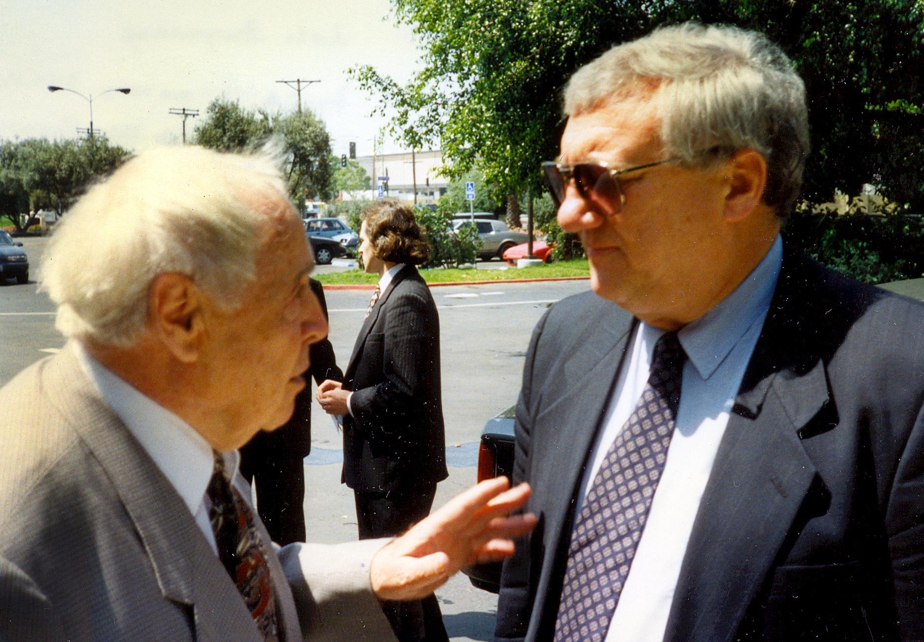 З Юрієм Щербаком в Лос-Анджелесі