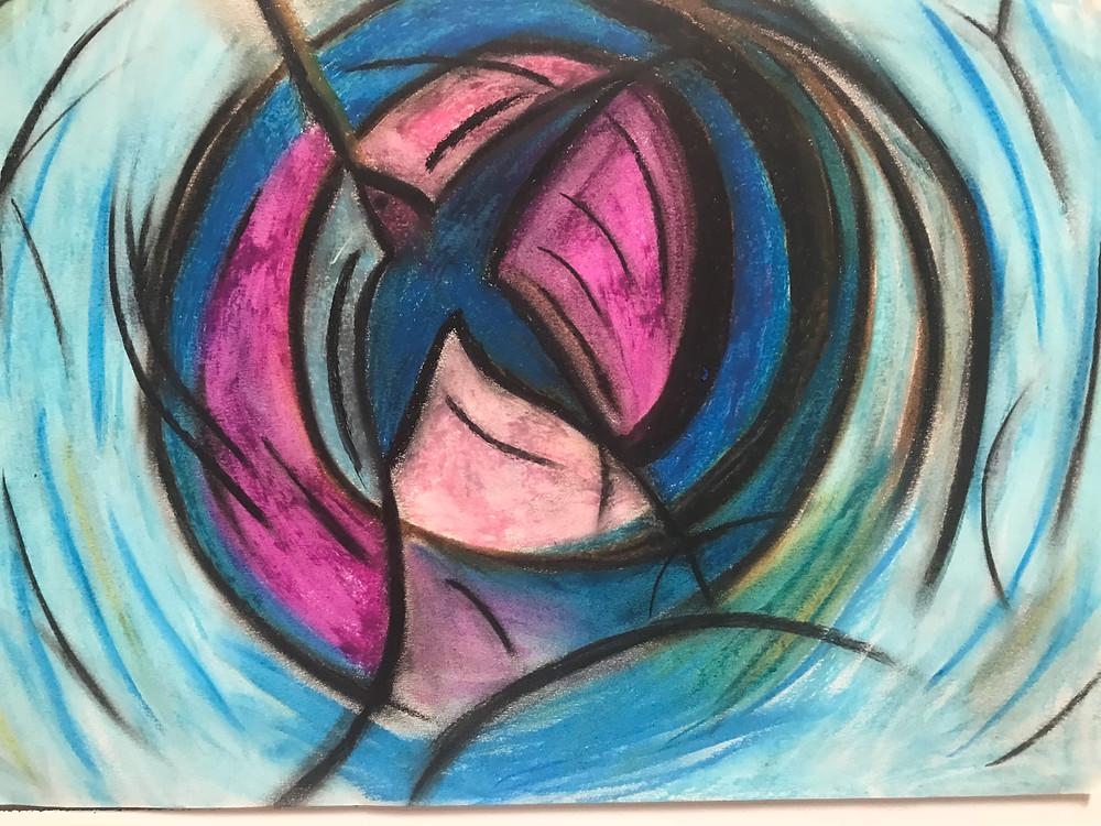 Roxane Don, dessin, art thérapie, dessiner