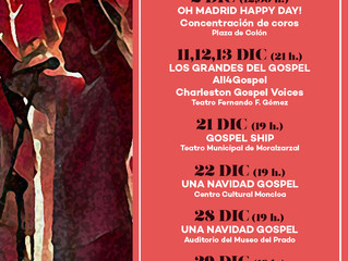 ALL4GOSPEL ON FIRE EN DICIEMBRE!