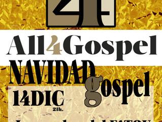 La Navidad Gospel llega el 14 de diciembre