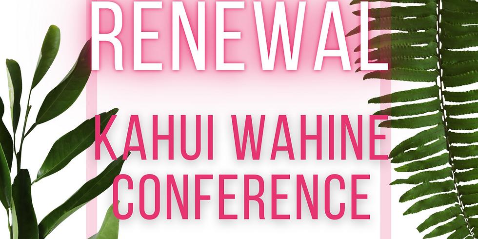RENEWAL: Kahui Wahine Conference