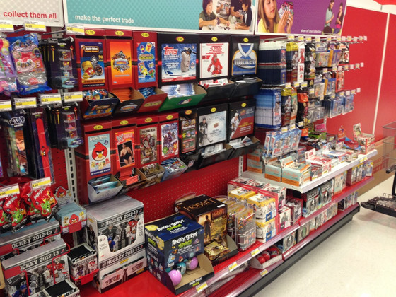 Coupon for $25 off ($100 plus purchase) baseball cards from Target