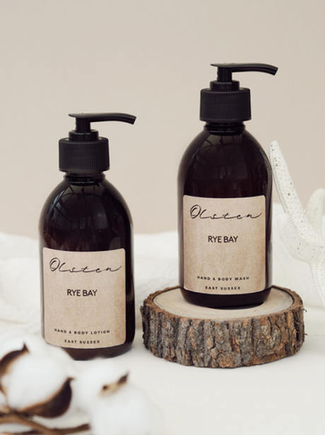 Hand & Body Wash and Lotion Set - Rye Bay
