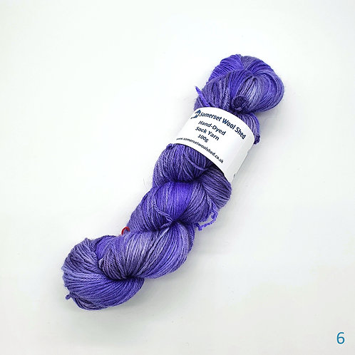 Merino and Silk Sock Yarn 100g
