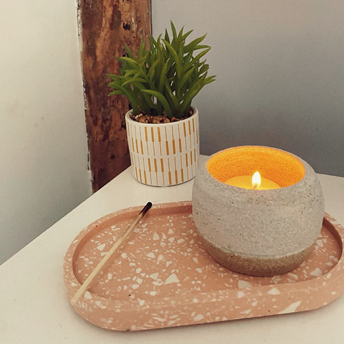 Small Ceramic Pot - Tea light holder