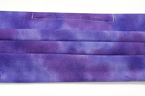 Cotton Face Mask - Purple Blend
