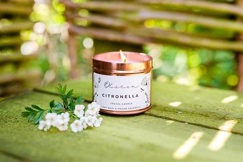 Citronella Travel Candle