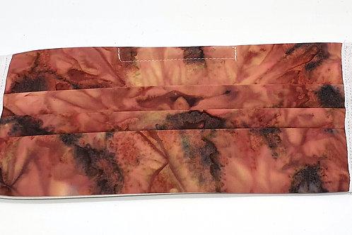 Cotton Face Mask - Earth Batik