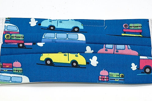 Cotton Face Mask - Camper Vans and Cars