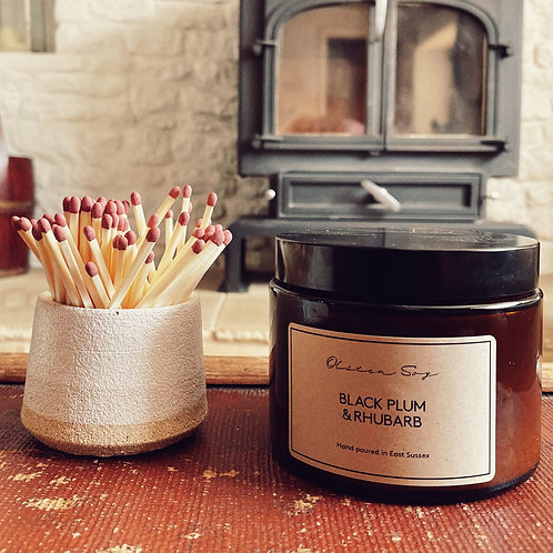 Ceramic Match Pot