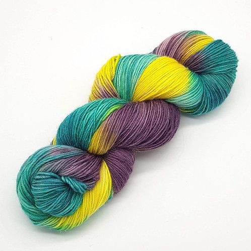 Merino, Baby Alpaca and Nylon Sock Yarn 110g