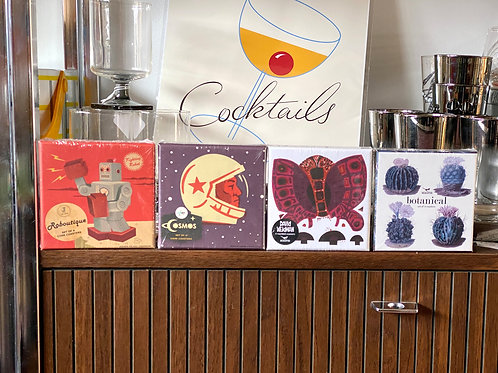 Retro Coasters by Magpie