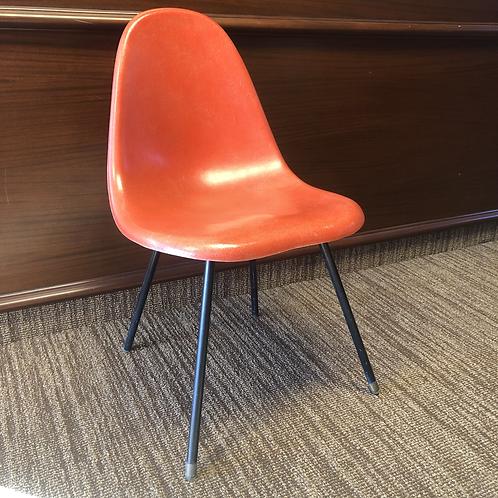 Orange Fiberglass Chair
