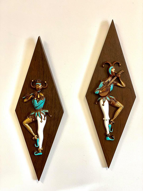 Harlequin Diamond Wall Plaques
