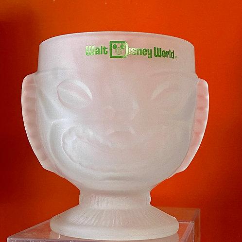 Vintage Walt Disney Polynesian Village Tiki Mug Glass