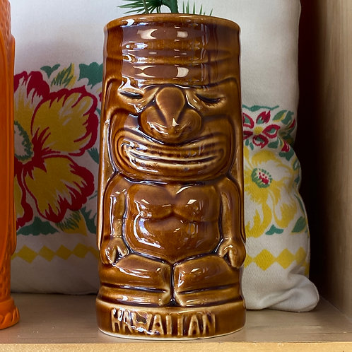 Hawaiian Tiki God Mug Glass