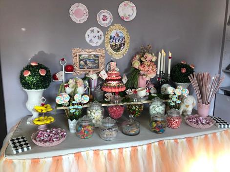 Candy bar Alice aux pays des merveilles