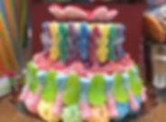 Gâteau de bonbons 2 étages