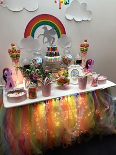 Candy bar licorne